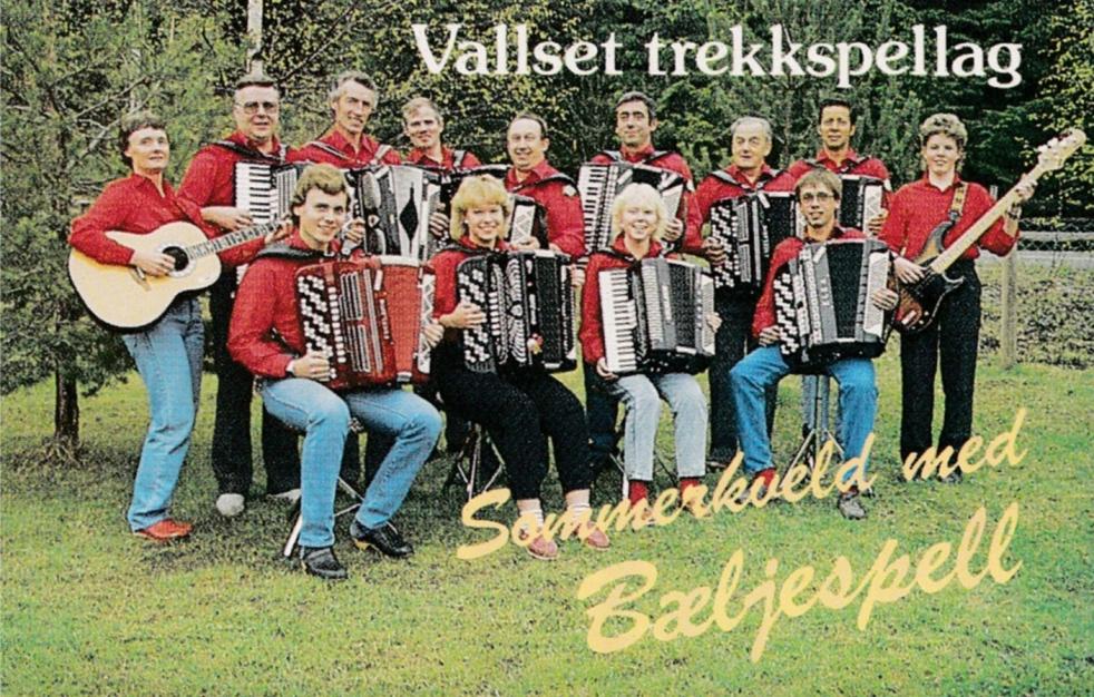 Cover Vallset trekkspellag Sommerkveld med Bæljespell